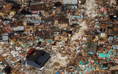 Hurricane Dorian Hits in the Bahamas
